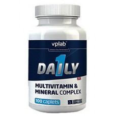 VPlab Daily Multivitamin 100 caps.