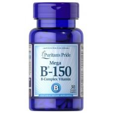 Puritan's Pride Vitamin Complex B-150 30 tab