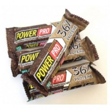 Power Pro Протеиновый батончик 36% Мокачино 60g 20шт
