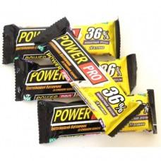 Power Pro Протеиновый батончик 36% Ваниль 60g 20шт