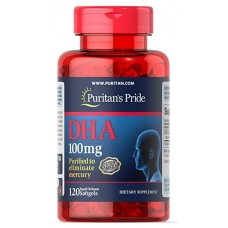 PURITAN'S PRIDE DHA 100 MG 120 SOFTGELS