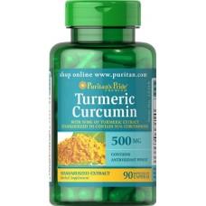 Puritan's Pride Turmeric Curcumin 500 mg 90 caps