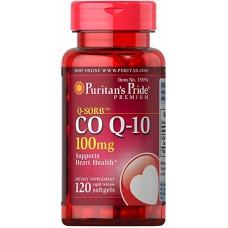Puritan's Pride Q-SORB Co Q-10 100 mg 120 softgels