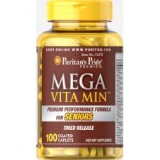 Puritan's Pride Mega Vita Min for Seniors 100 caps